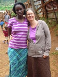 Cathy meets Edina