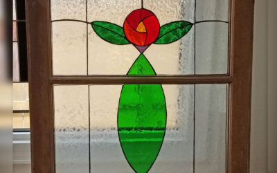 Stained Glass, by Melanie Martin